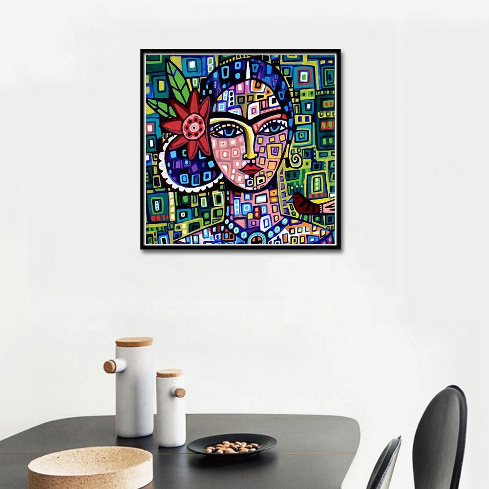 【 COD 】 Lukisan Diamond 5D DIY Gambar Abstrak Untuk Dekorasi Rumah