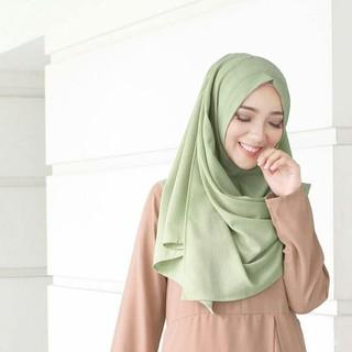 Hijab / Jilbab Pashmina Instan / Pashtan Drapery / Sala Instan / OSHI / OSI uk. MEDIUM/STANDAR