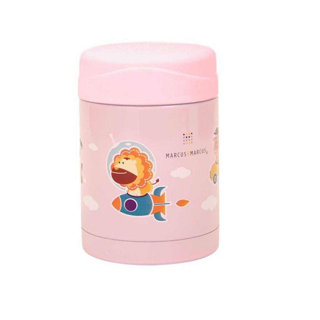 Marcus Thermal Food Drink Jar Pink Comotomo 150 Ml Single Pack