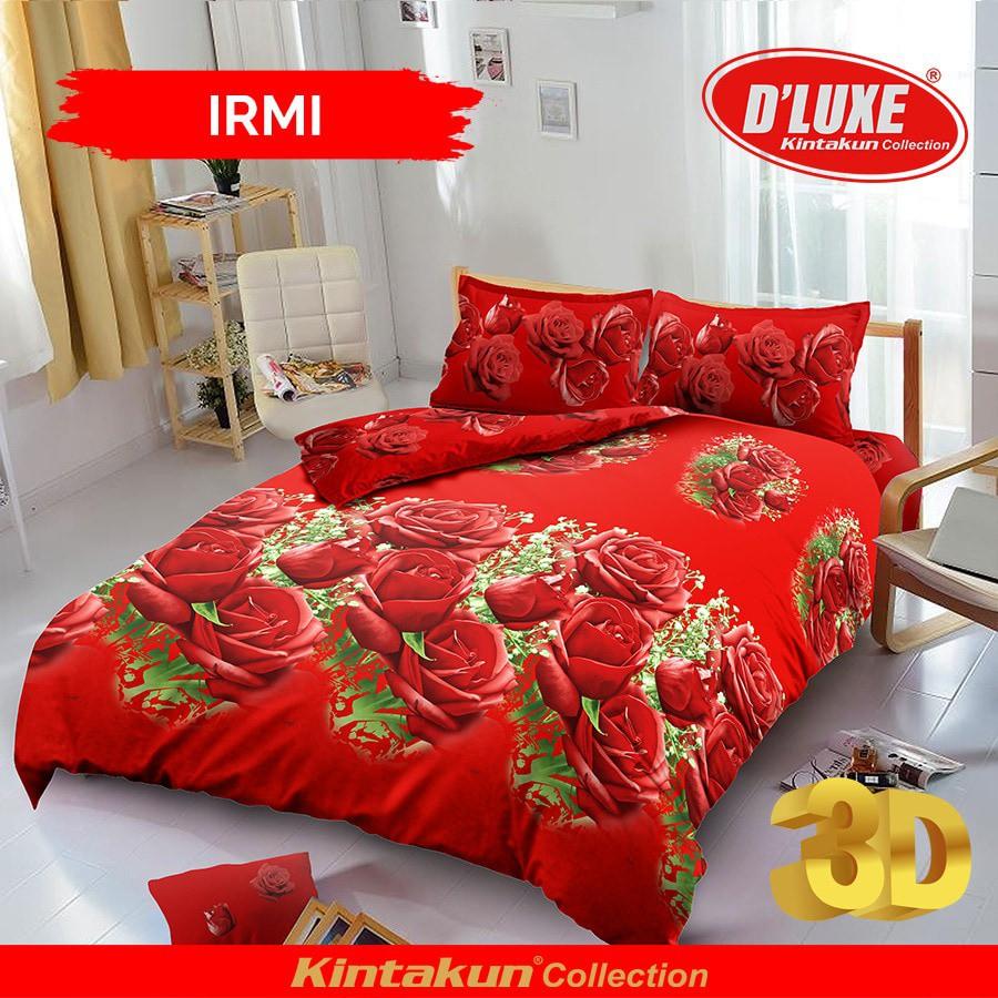 Jual Sprei Kintakun D Luxe Uk 160 X 200 Motif Rosana Kita Dluxe Rumbai 180 B2 King Givency Shopee Indonesia