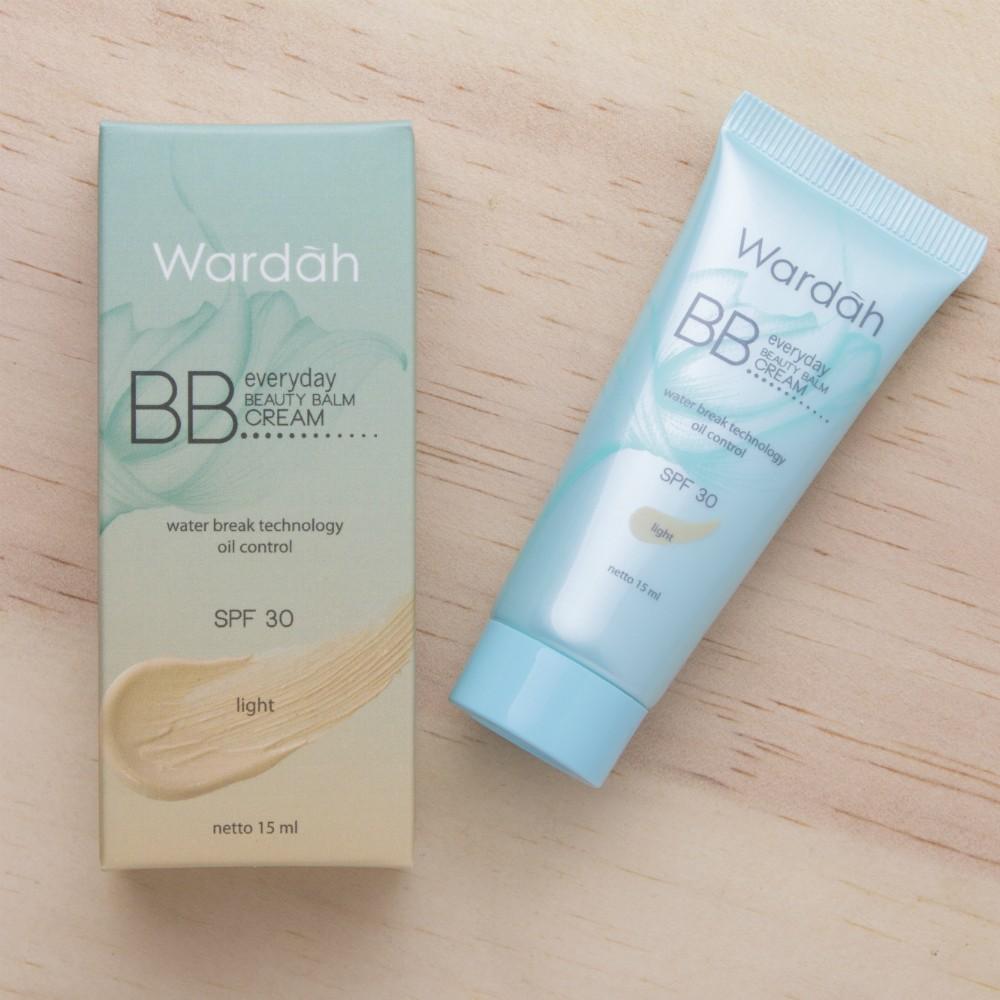 Wardah Lightening BB cream dan Everyday BB cream 15 ml | Shopee Indonesia