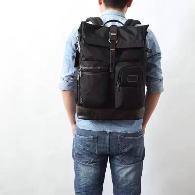 Tas Tumi Luke RollTop Backpack Pria Import Mirrir Quality