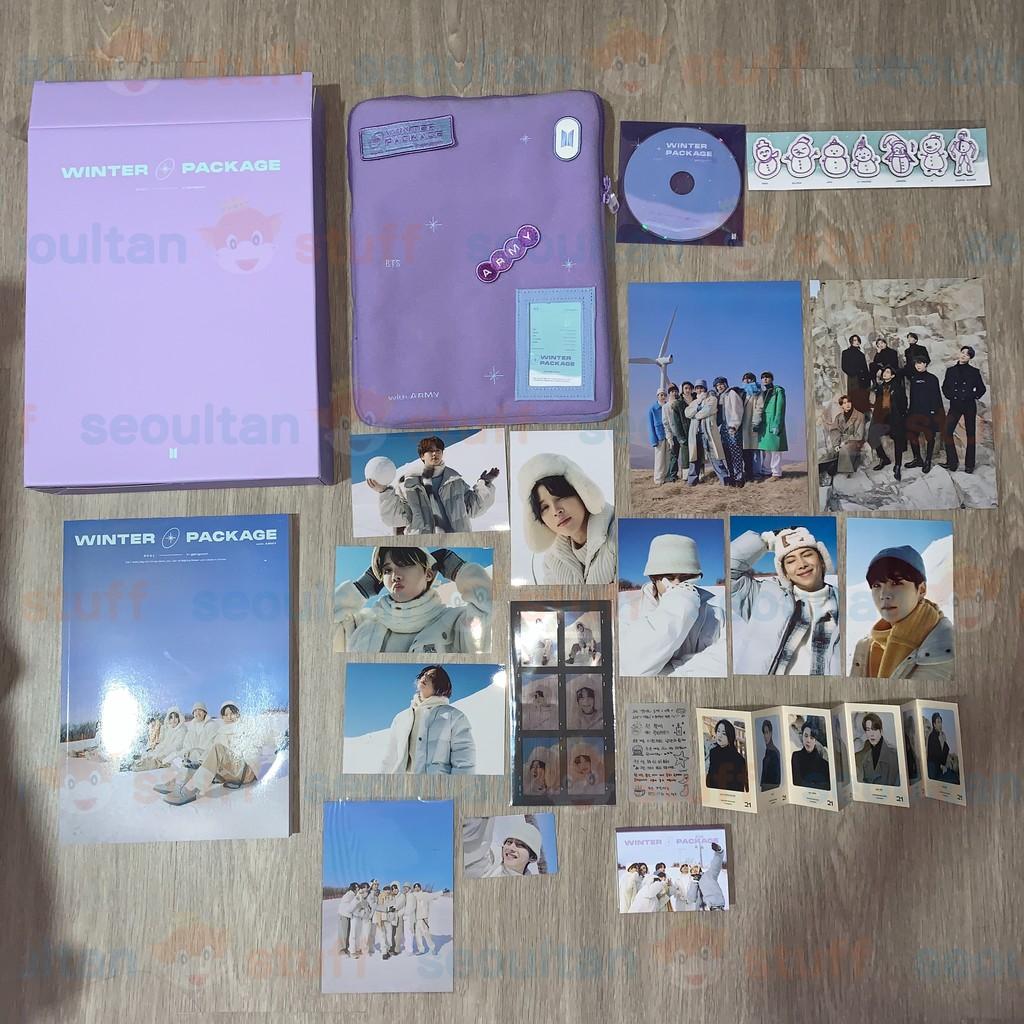 BTS - 2021 WINTER PACKAGE MEMBER PHOTOBOOK POUCH WAPPEN RANDOM PC RM SUGA JIN JHOPE JIMIN TAEHYUNG