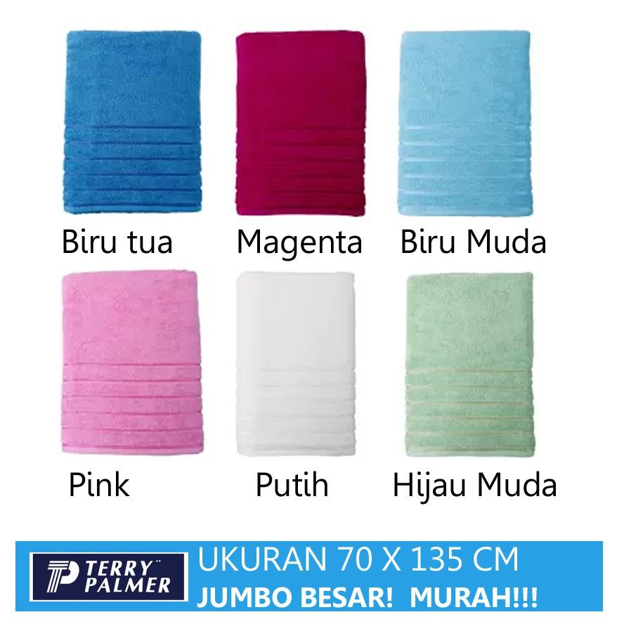 Handuk Towel One By Terry Palmer Jumbo Shopee Indonesia Pamela Lenuta