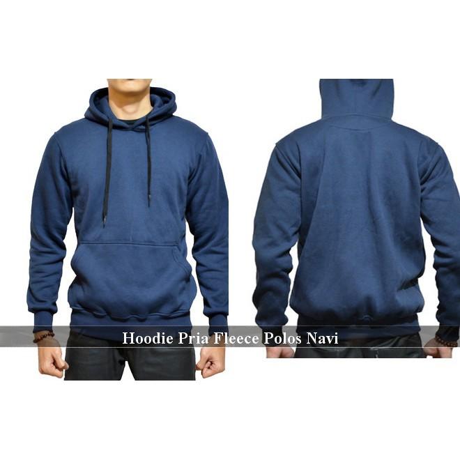 Jaket polos murah cowok cewek hoodie jumper keren fleece distro sweater  komunitas couple  1b5d5de248
