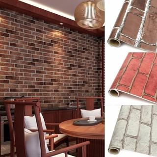 3d Brick Wallpaper Sticker Self Adhesive Foam Wallpaper Panels Room Decoration