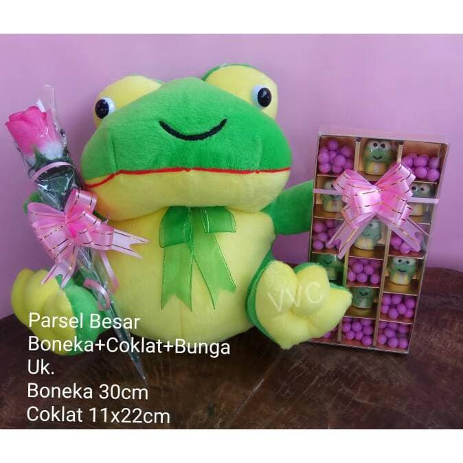 Parsel Valentine Besar Boneka Bear Coklat Valentine Bunga - Daftar ... 59414887b6