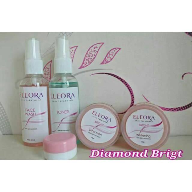 Cream eleora diamond bright perawatan untuk wajah normal | Shopee Indonesia