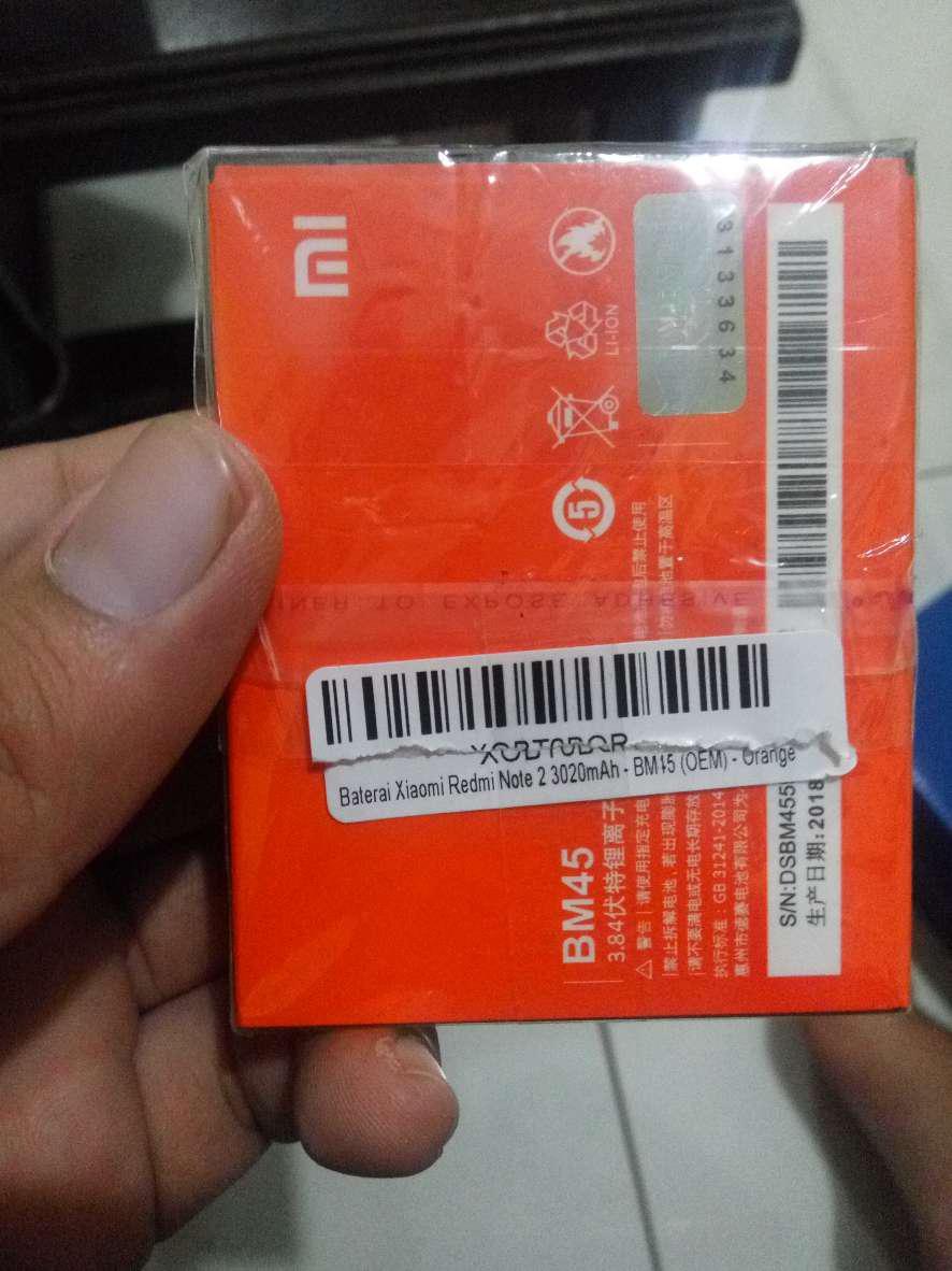 Baterai Xiaomi Redmi Note 2 Bm45 3020 Mah Oem Shopee Indonesia Universal Cadangan Replacement Battery Hp