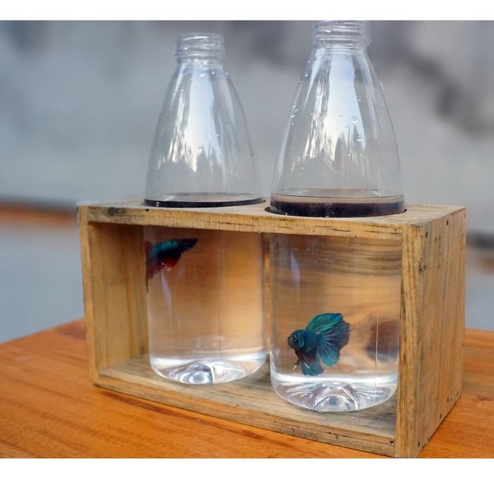 Pot Botol Plastik 02 Pot Botol Ikan Cupang Shopee Indonesia