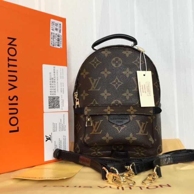 f717a7767496 PALM SPRINGS BACKPACK MINI MONOGRAM with BOX
