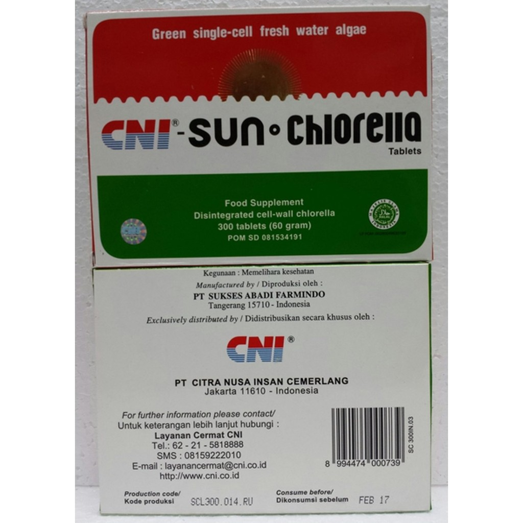 Sun Chlorella A Import 300 Tabletsmurah Asli Shopee Myprotein L Carnitine 500 Mg Isi 180 Tablets From Uk Indonesia