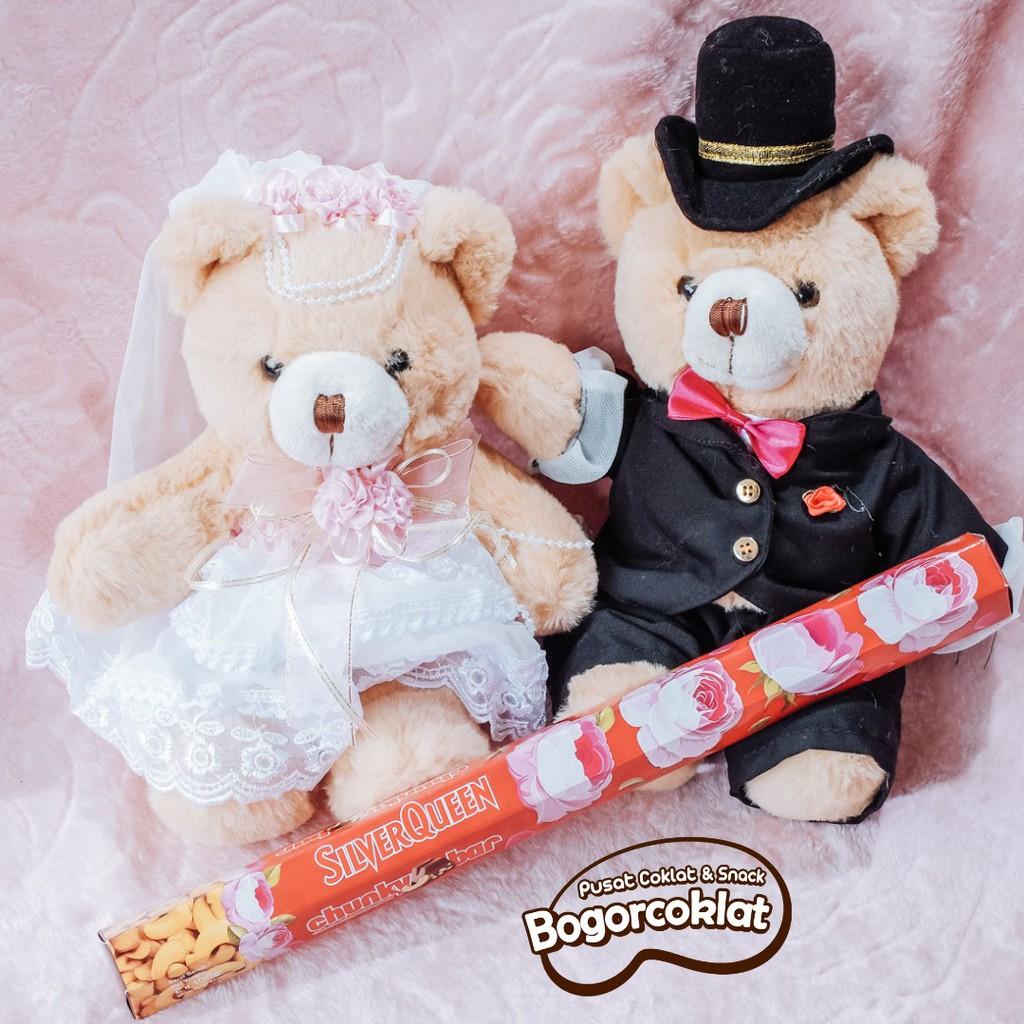 Kado Teddy Wedding Love Valentine