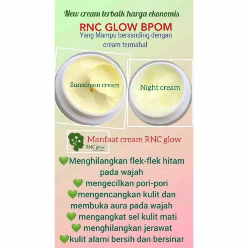 Rnc Glow Original Ampuh Untuk Flek Jerawat Shopee Indonesia