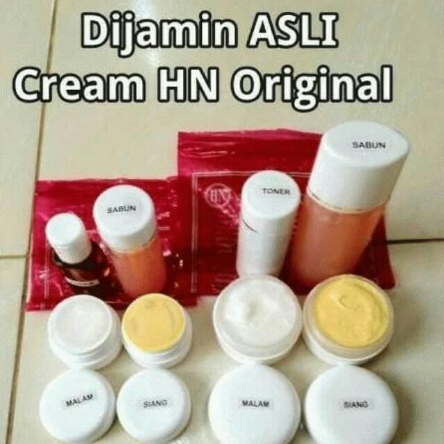 Cream Hn Original 20 Gr Krim Hn Paket Kecil Kemasan Pot Bawah Embos Shopee Indonesia