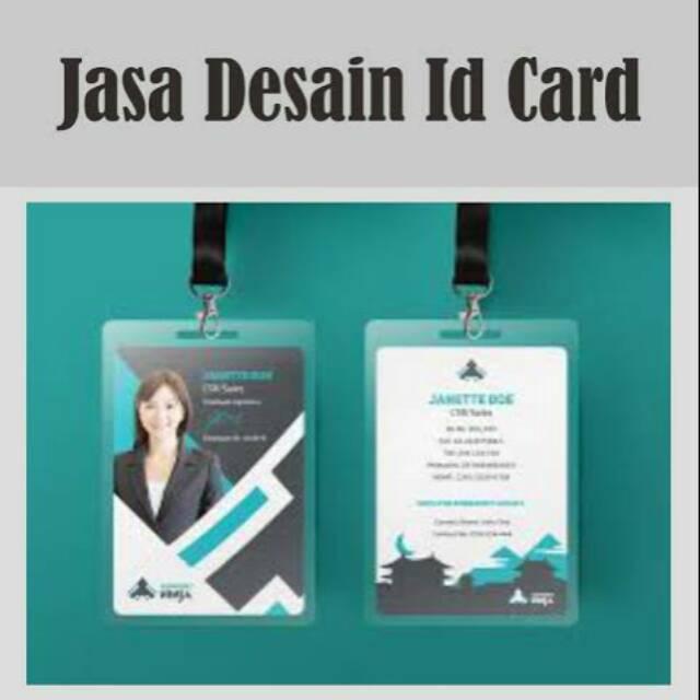 Jasa Design Id Card Name Tag Include Logo Shopee Indonesia