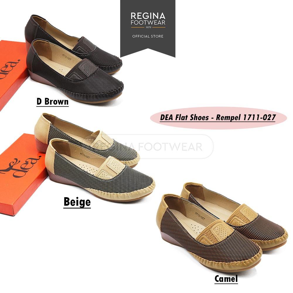 Dea Shoes Flat Sepatu Wanita 1612 25 152 Khaki Shopee Slip On 1704 59 Coffee Size 36 41 Cokelat 40 Indonesia