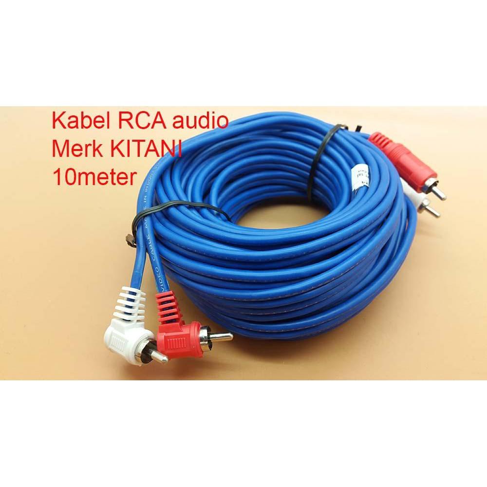 Kabel Rca 3 K Male Cable Panjang 3m Shopee Indonesia Magnet Strip Flexible 15x2mm Sticker Kulkas Kasa Nyamuk Kerajinan
