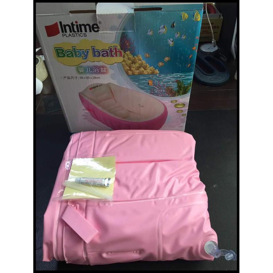 Intime Baby Bath Tub Bak Mandi Bayi Cek Harga Terkini Dan