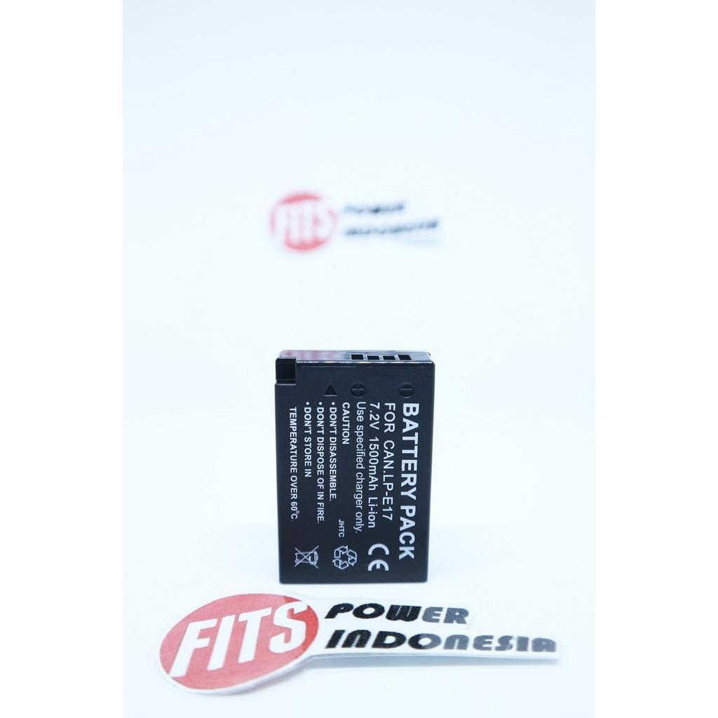 Best Sellerr Baterai Battery Canon Lp E17 For Eos M3 750d 760d Batre E8 Untuk Tipe Kamera 550d 600d 700d 8000d Etc