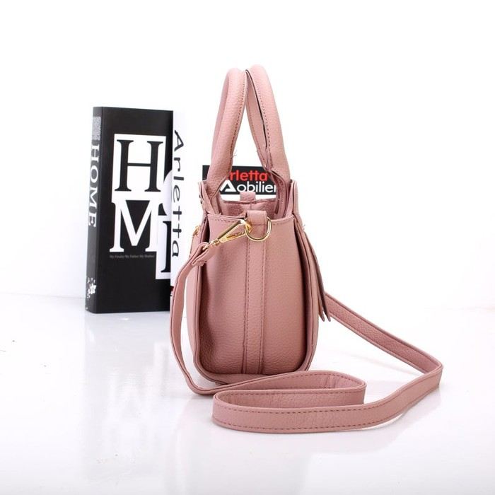 (Recommended) Tas Wanita Handbag Luxury 53364 Champagne Import | Shopee Indonesia