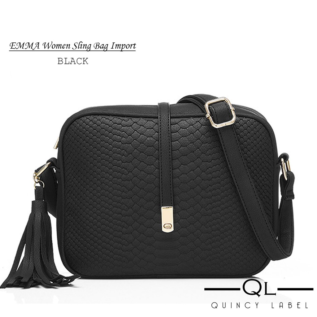 Bienvenue - EMMA Women Sling Bag Import   Tas Selempang Wanita ... be0846d8c5