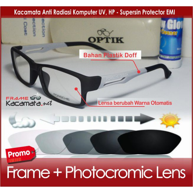 Frame kacamata New Balance TR Clip-on 2 Lensa Super Quality ( black  polarized + yellow nightvision )  0bac0b9c9e