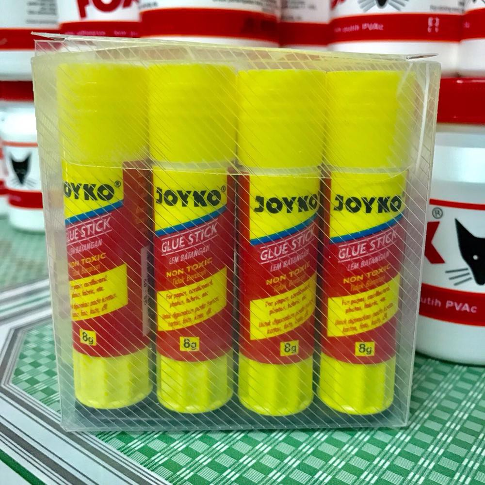 Lem Stick Joyko 8gr 12pcs Shopee Indonesia Kertass