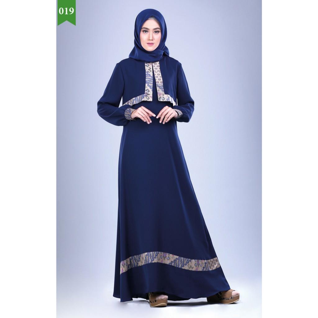 Baju Gamis Perempuan Baju Gamis Wanita Baju Muslim Cewek Baju Muslim Elegan Gamis Murah Shopee Indonesia