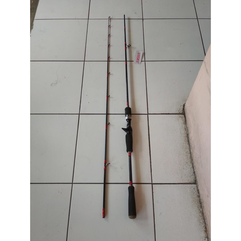 Joran Bc Utecate Nippon 180 Baitcasting Kuat Shopee Indonesia Kenzi Torzite Light Cast 165 Rod Casting