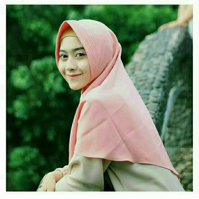 Hijab Khimar Simpel Antem Pet Jilbab Instan Terbaru Grosir Surabaya Bandung Shopee Indonesia