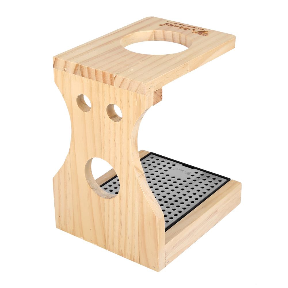 Wood Coffee Maker Dripper//Drip Coffee Stand Removable Stand Rack Filter Holder