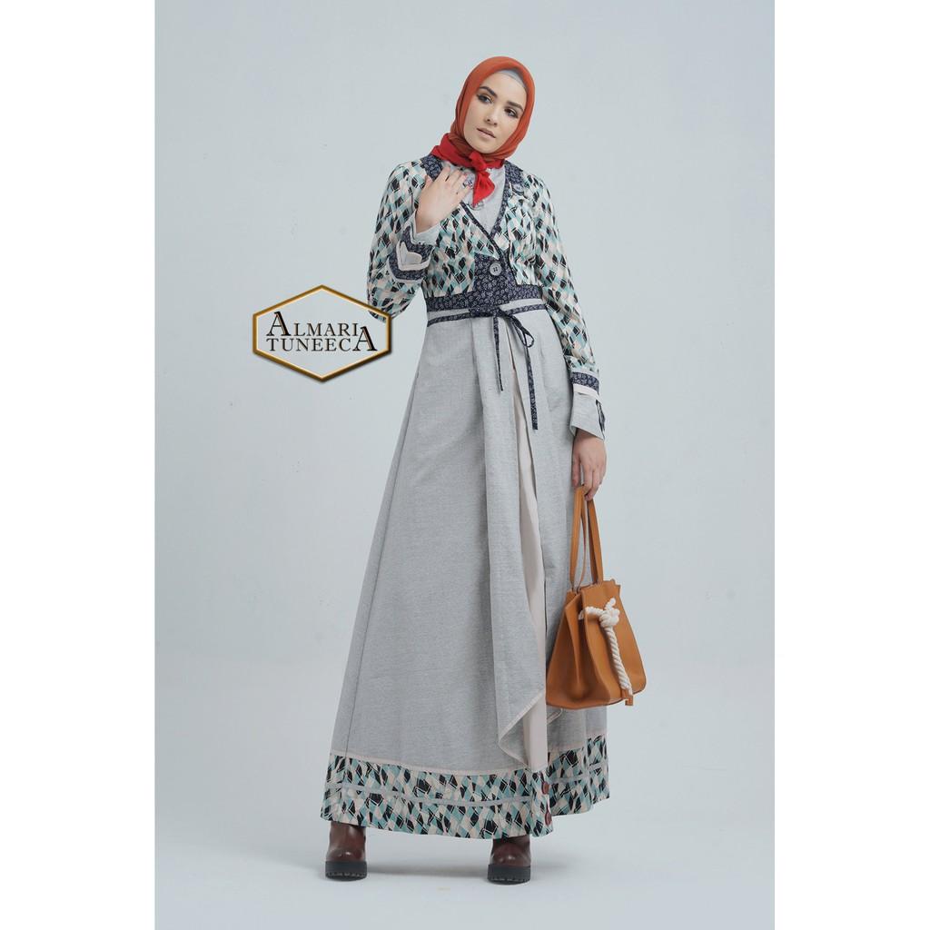 Gamis Dress Mewah Original Almari Tuneeca 0519005 Shopee Indonesia