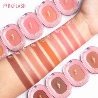 COD Pinkflash Ohmyhoney blush powder kosmetik matte natural repair blush on CANTIKLIB 5