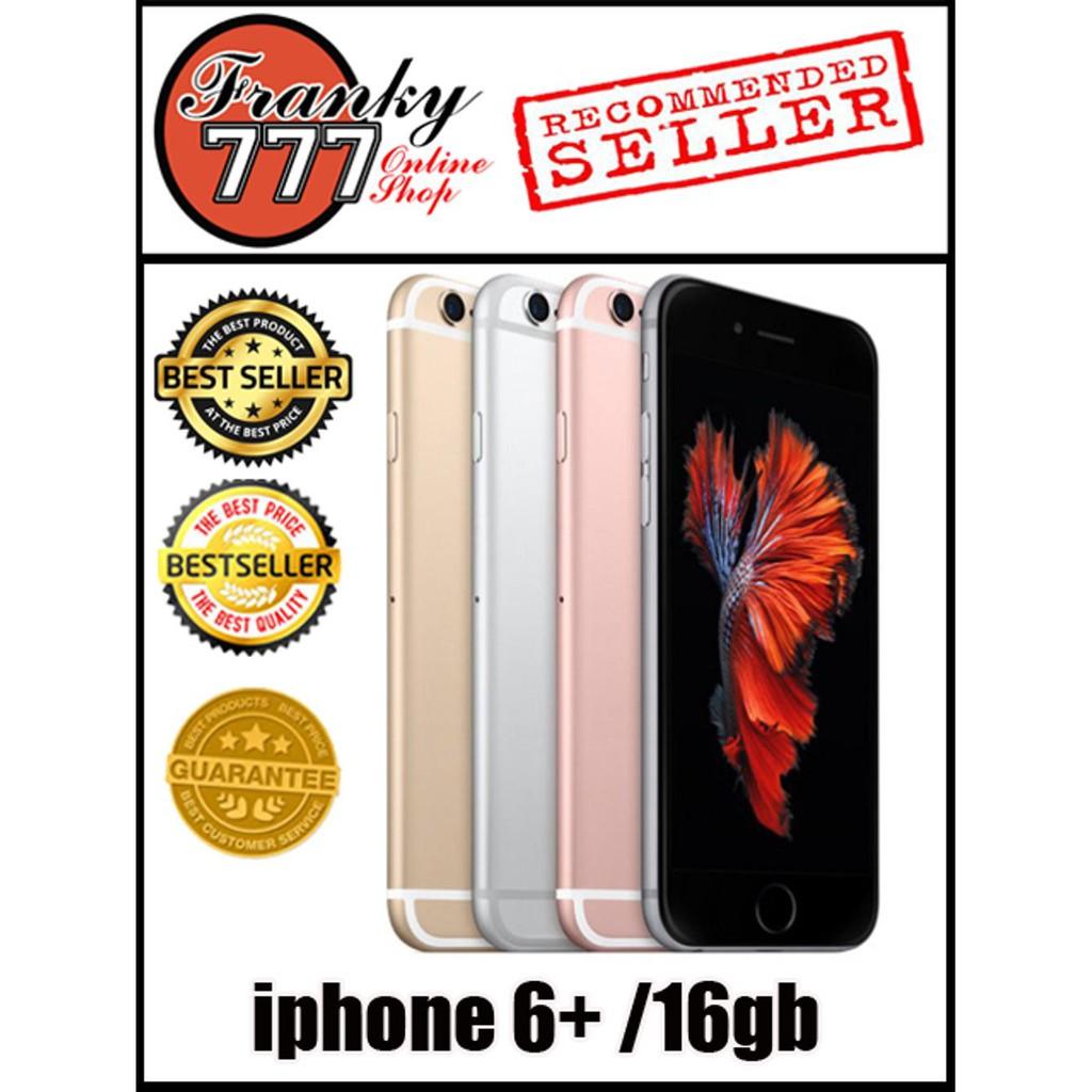 Apple Iphone 6 Plus 16gb Garansi 1 Tahun Shopee Indonesia 4s Fu Distributor