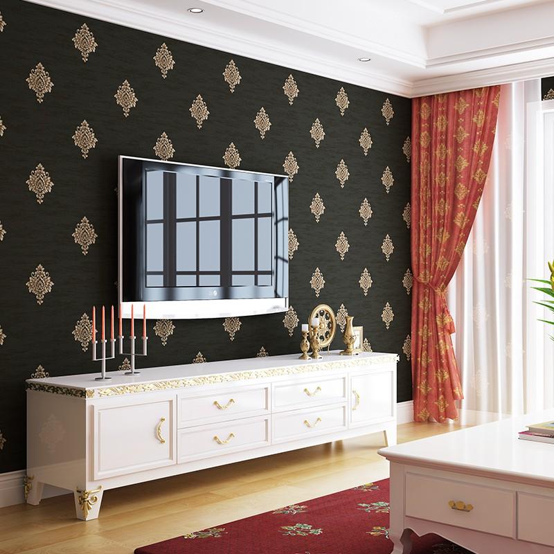 Contoh Desain Gambar Wallpaper Dinding Ruang Tamu Kamar Tidur