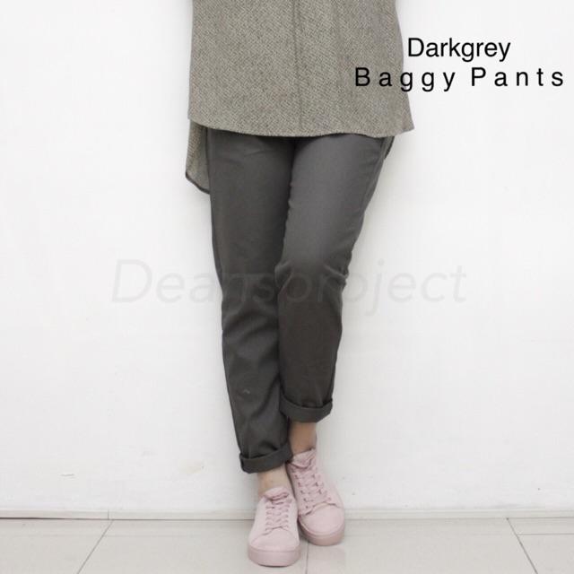 b2798cbeb67bdc Amy baggy pants SIZE M   Shopee Indonesia