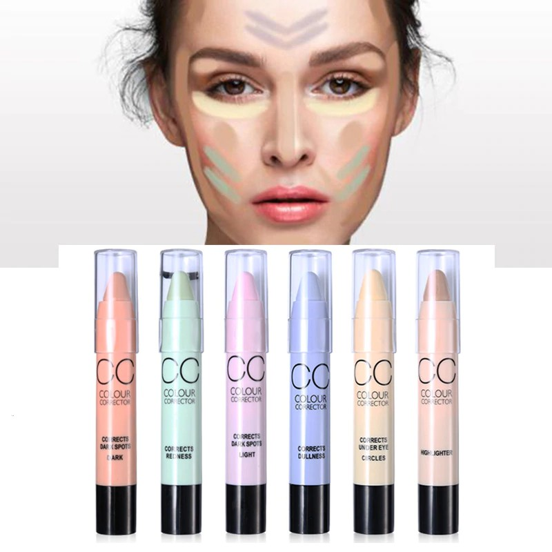 Face Concealer Color Corrector Stick