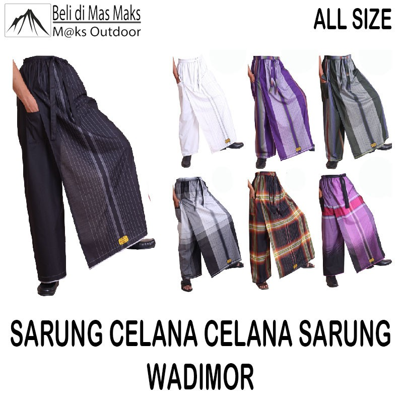 Celana Sarung Dewasa / Sarung Celana Dewasa / Sarung Celana / Celana Sarung Dewasa / Celana Sarung   Shopee Indonesia