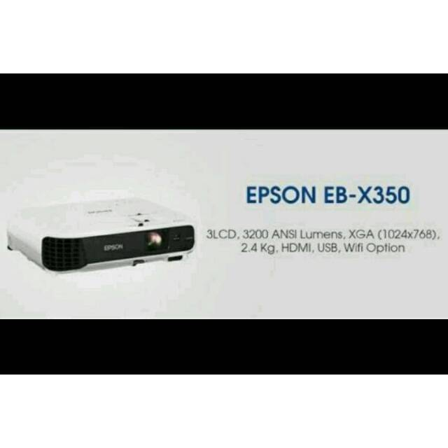 EPSON Projector EB-X350 3200 Ansi Lumens. Source · Dapatkan .
