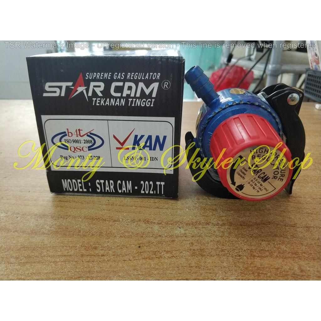 Regulator Gas Com 201 S Destec Tekanan Rendah Non Meter 201s Com201s Starcam Sc 23m Pengaman Dengan Shopee Indonesia