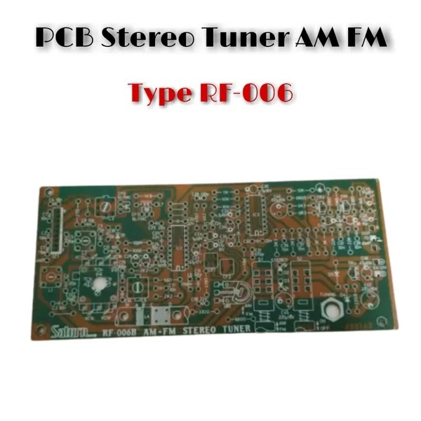 PCB AM FM Stereo Tuner RF-006
