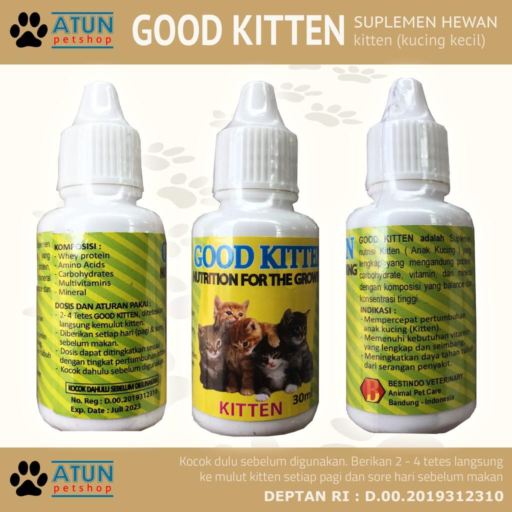 New Good Kitten Vitamin Anak Kucing Shopee Indonesia
