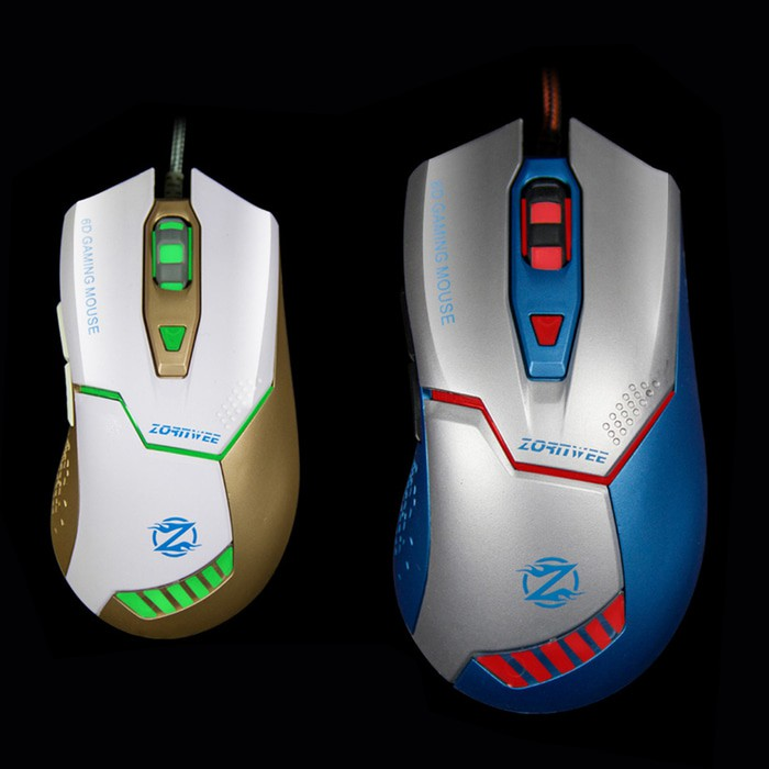 Optical Mouse Zornwee Gaming Death Lamp .