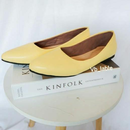 Bherka flatshoes yellow Bherlyn flatshoes yellow