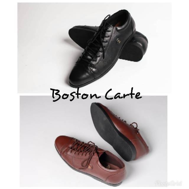 Sepatu kulit pria model Carte(pantofel 864bb4c471