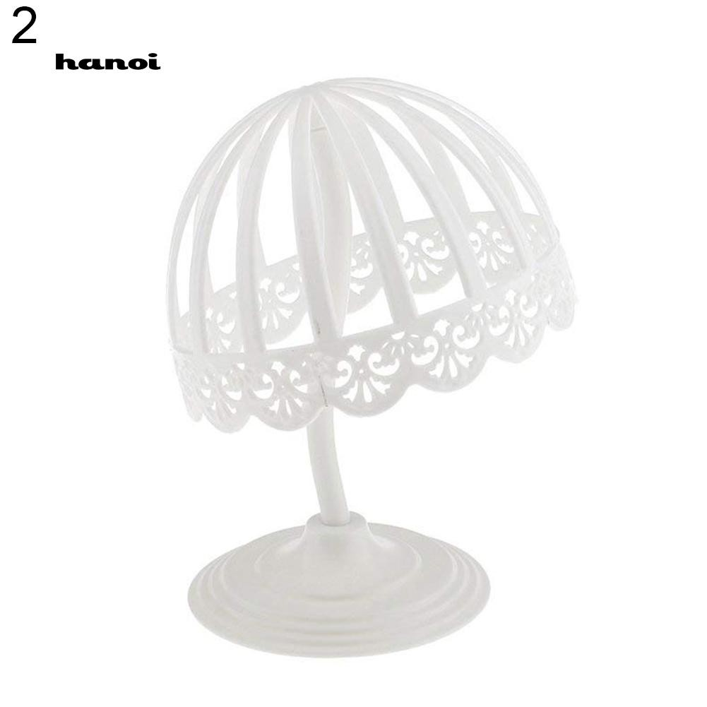 1 Pcs Freestanding Hat Holder Display Rack Stand Organizer Wigs Storage//Plastic