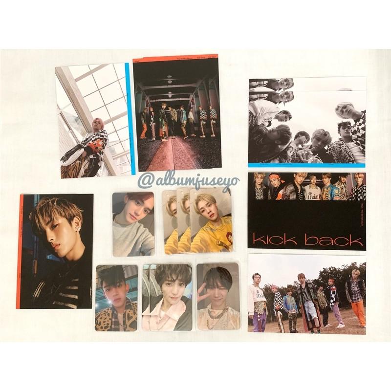 [SHARING] PC Photocard Postcard WayV Kick Back GRUP Ten Yangyang Kun Lucas Winwin Hendery
