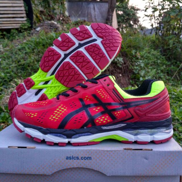 Sepatu Volly Asics Gel Kayano 22 Merah Shopee Indonesia