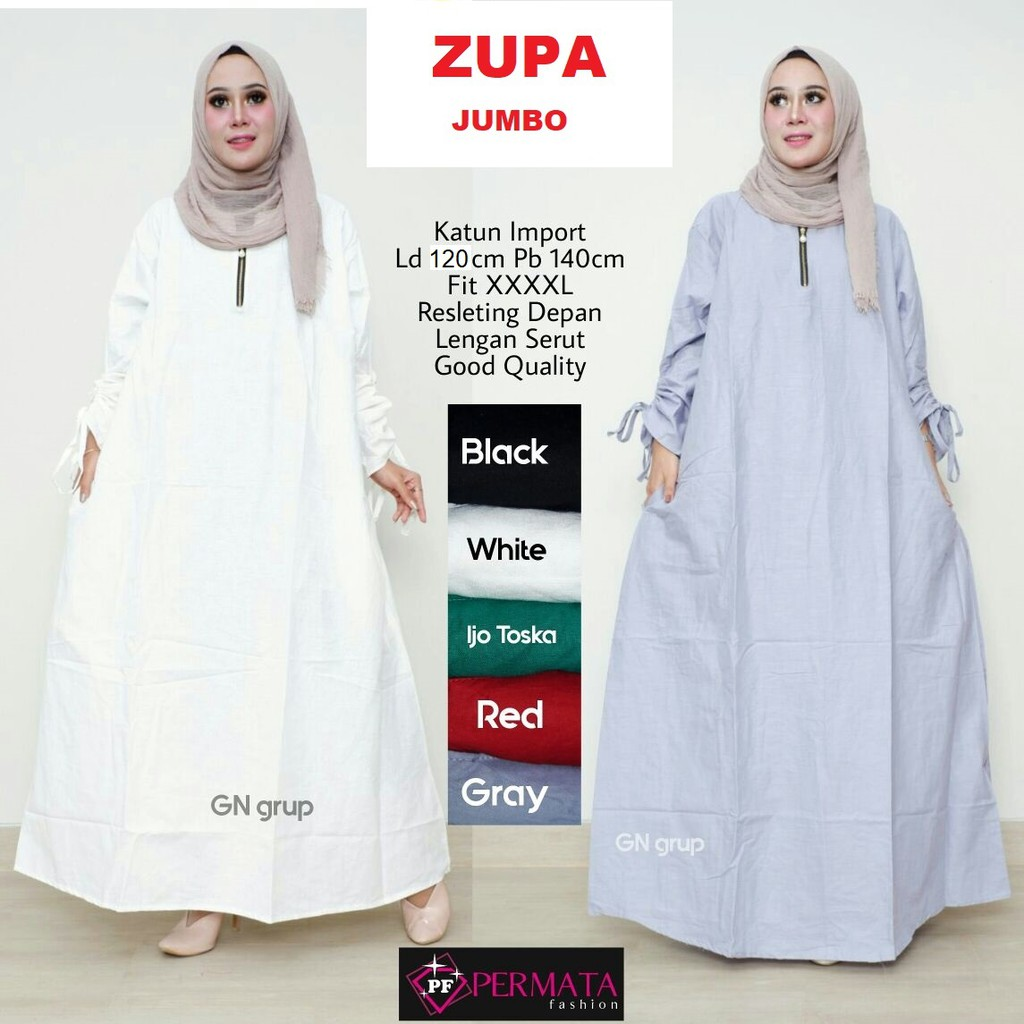 PROMO TOKO SANTRIYAH-Grosir Baju Gamis Wanita Brukat Syari Putih Lebaran  Umroh Haji Busana Muslim  d0490cf349